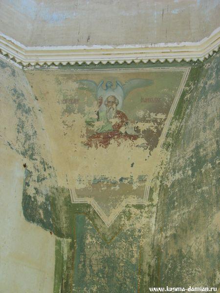 Роспись храма практически утрачена